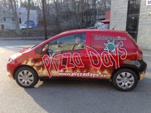 Car Wrap Graphics Wraps Sedan Pizza Coupe Pzd
