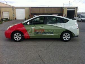 Car Wrap Graphics Wraps Sedan Prius IMO