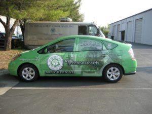 Car Wrap Graphics Wraps Sedan Prius Gpc