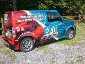 Car Wrap Graphics Wraps Sedan Scion Exit