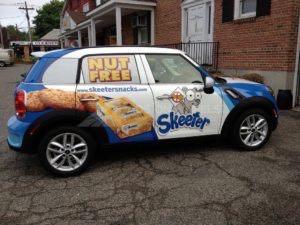 Car Wrap Graphics Wraps Sedan Skeeter Food