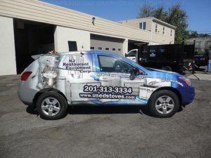Car Wrap Graphics Wraps Sedan Stove Njr