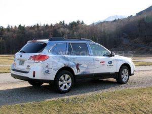 Car Wrap Graphics Wraps Sedan Subaru Outback MTW