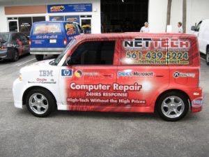 Car Wrap Graphics Wraps Sedan Tech Szg