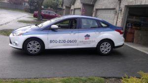 Car Wrap Graphics Wraps Sedan Veterans Vam