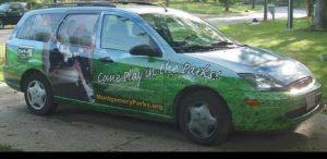 Car Wrap Graphics Wraps Sedan Wagon Parks Ppc