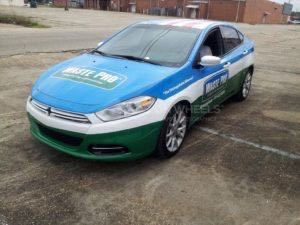 Car Wrap Graphics Wraps Sedan Waste Pro MMM