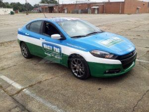 Car Wrap Graphics Wraps Sedan Wastepro Mmm