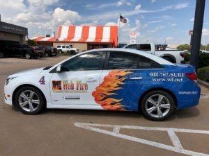 Car Wrap Graphics Wraps Sedan Wfc