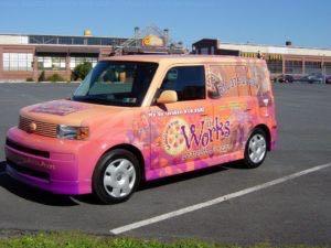 Car Wrap Graphics Wraps Sedan Works
