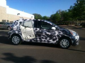Car Wrap Zoo Animal Graphics PNM Prius