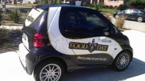 Car Wraps Graphics Smart TRY Food