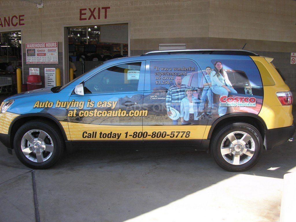 Car Wraps SUV CostCo GMC Acadia