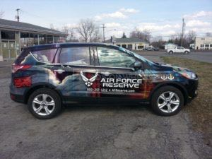 Car Wraps Suv Ford Escape BWA14