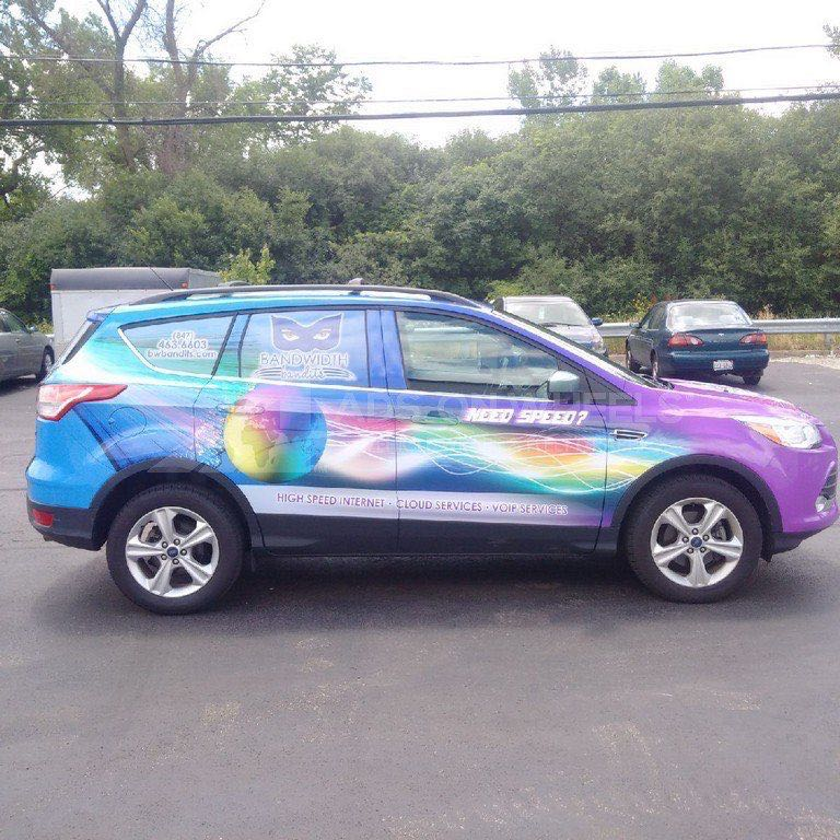 Car Wraps SUV Ford Escape BWT