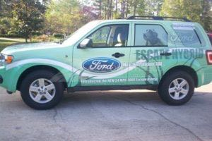 Car Wraps Suv Ford Escape FORD