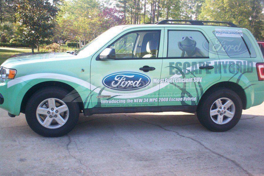 Car Wraps SUV Ford Escape