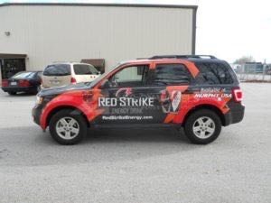 Car Wraps Suv Ford Escape Drink Beverage MOC Atl