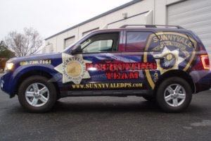 Car Wraps Suv Ford Escape Emergency Vehicle