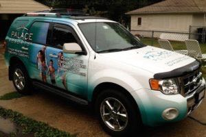 Car Wraps Suv Ford Escape Palace Resorts