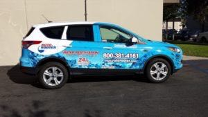 Car Wraps Suv Ford Escape Roto Rooter Plumbing RR