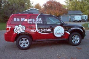 Car Wraps Suv Ford Escape Sit Pet