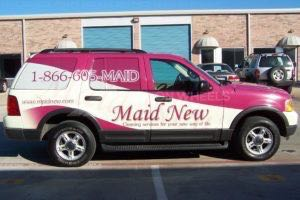 Car Wraps Suv Maid New Service Ford Exlorer