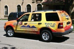 Car Wraps Suv New Mexico Tech Ford Exlorer