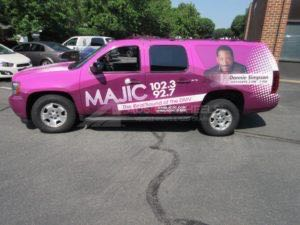 Car Wraps Suv RDO Radio Station Chevy Suburban RD012