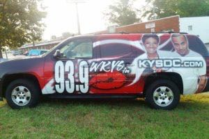 Car Wraps Suv RDO Radio Station Chevy Suburban RD02