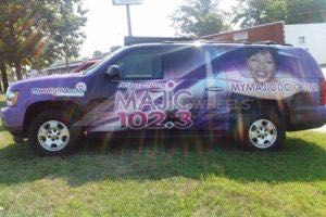 Car Wraps Suv RDO Radio Station Chevy Suburban RD03