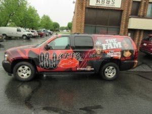 Car Wraps Suv RDO Radio Station Chevy Suburban RD06