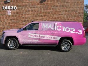 Car Wraps Suv RDO Radio Station Chevy Suburban RD08