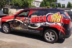 Car Wraps Suv Radio Station GMC Terrain