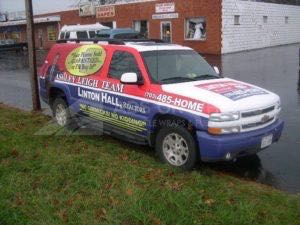 Car Wraps Suv Real Estate Chevy Suburban LHR