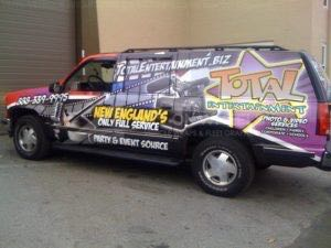 Car Wraps Suv Total Entertainment Chevy Suburban TEV3