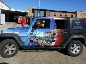 Car Wraps Suv Travel Agency Graphics Jeep Wrangler JMJ