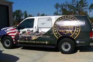 Car Wraps Suv US Border Patrol Ford Excursion