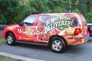 Car Wraps Suv Wing Zone Restaurant Ford Expedition