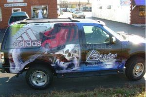 Car Wraps Suv Addidas Ford Expedition