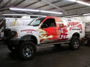 Car Wraps Suv Dealership Ford Excursion
