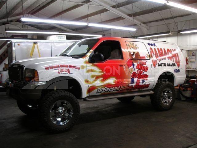 Car Wraps SUV Dealership Ford Excursion