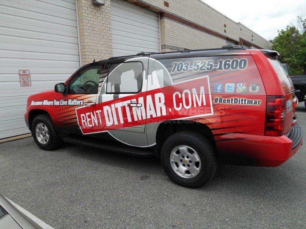 Car Wraps SUV Dittmar Chevy Suburban DIT