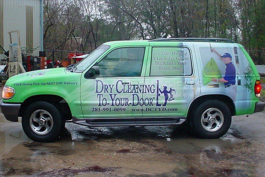 Car Wraps SUV Dry Cleaning Ford Explorer