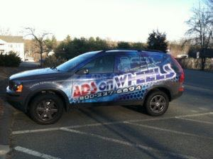 Car Wraps Suv Graphics Ads On Wheels Volvo XC90 2