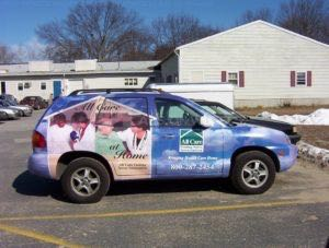 Car Wraps Suv Graphics All Care Hyundai Sante Fe
