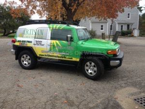 Car Wraps Suv Graphics Artisan Electric Toyota FJ Cruiser AEL