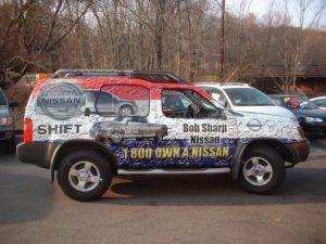 Car Wraps Suv Graphics Dealership Sharp Nissan Exterra BOB