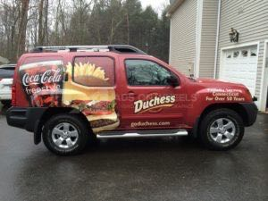 Car Wraps Suv Graphics Dutchess Food Coke Nissan Xterra DHR
