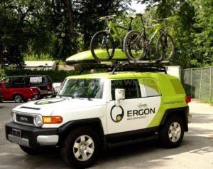 Car Wraps Suv Graphics Ergon Bicycles Toyota FJ Cruiser ERG